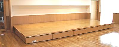 MTW-EW 動式壁面収納折り畳みステージ
